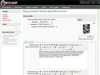 InteliShop - zarządzanie produktami